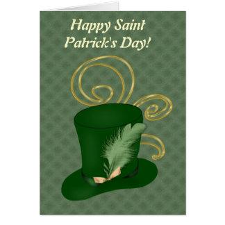 Carte heureuse de jour de Patricks de saint