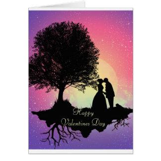 Carte heureuse de jour de Valentines