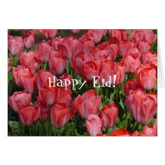 Carte heureuse d'Eid