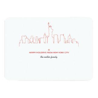 Carte Horizon de vacances de New York City
