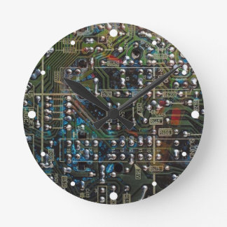 Carte Horloge Ronde