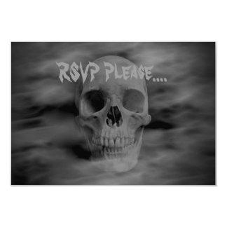 Carte Horreur RSVP de Halloween