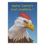 Carte humoristique d'affirmation de Cancer