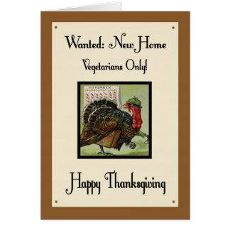 Carte humoristique de jour de thanksgiving