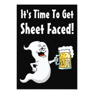 Carte Il est temps d'obtenir Halloween adulte drôle fait