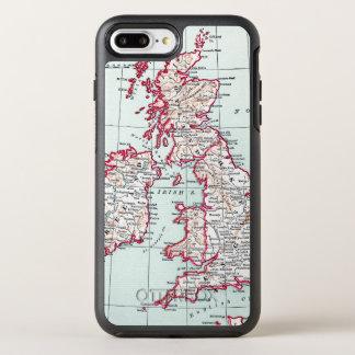 CARTE : ÎLES BRITANNIQUES, c1890 Coque Otterbox Symmetry Pour iPhone 7 Plus