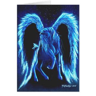 Carte illuminée par les étoiles de Pegasus de