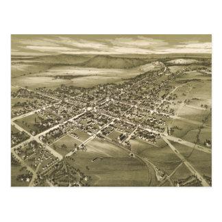 Carte imagée vintage de la PA de Gettysburg (1888)