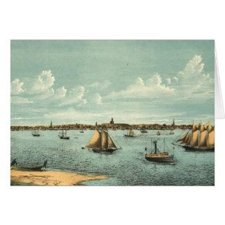 Carte imagée vintage de Provincetown (1887)