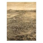 Carte imagée vintage de San Jose CA (1869) Cartes Postales