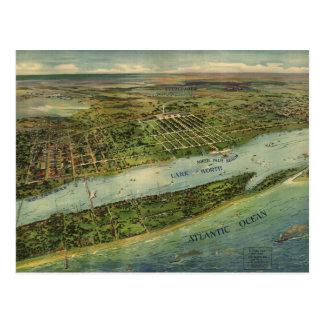 Carte imagée vintage de West Palm Beach (1915)