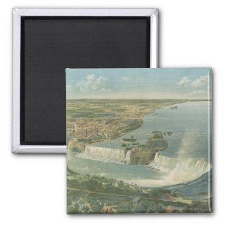 Carte imagée vintage des chutes du Niagara NY 189 Aimants Pour Réfrigérateur