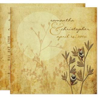 Carte Inséparables+invitations de mariage