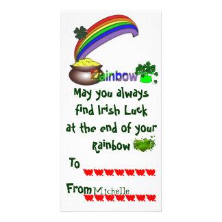 Carte Irlandais Valentine de salle de classe