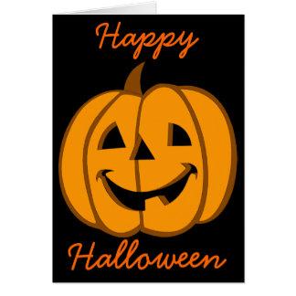 Carte Jack-o'-lantern 3 de Halloween