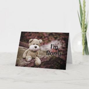 Désolé.. veuillez me Pardonner.. Carte de Vœux.