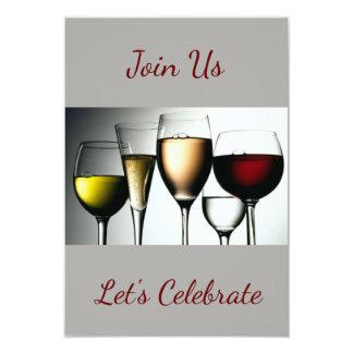 Carte ** Joignez-nous/célébrons ** l'INVITATION de