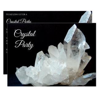 Carte Joli cristal de quartz