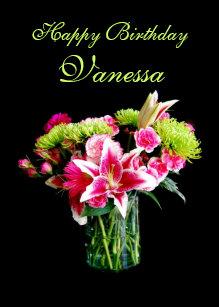Cadeaux Anniversaire Vanessa Zazzle Fr