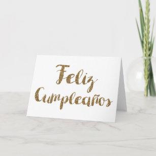 Cartes Espagnol Feliz D Anniversaire Zazzle Fr