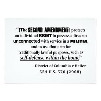 Carte Jurisprudence d'amendement de dc v Heller en