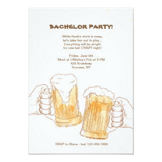 Carte La bière encourage l'invitation