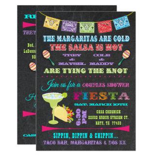 Carte La fiesta mexicaine couple la douche nuptiale