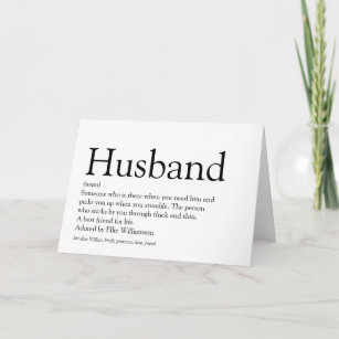 Meilleur mari dans le monde Père/'S Jour Carte Cartes De Vœux