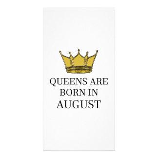 Carte La Reine sont née en août