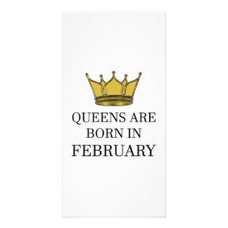 Carte La Reine sont née en février