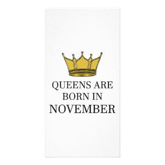 Carte La Reine sont née en novembre
