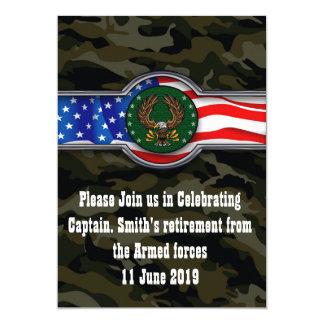 Carte La retraite militaire d'un soldat