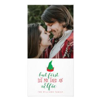 Carte Laissez-moi prendre Noël d'Elfie