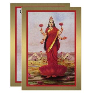 Carte Lakshmi 1896