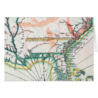 Carte : L'Amérique du Nord, 1742