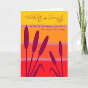 Cartes De Vœux Anniversaire 14 Ans Zazzle Fr