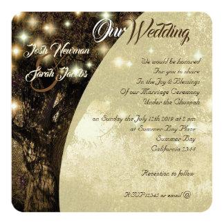Carte L'arbre de la nuit juive de la vie allume le