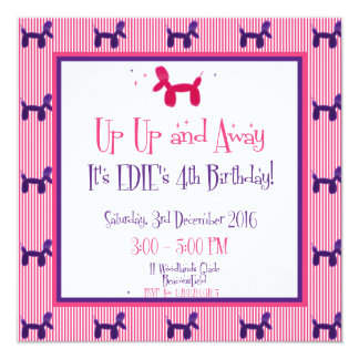 Carte Le 4ème anniversaire d'Edie