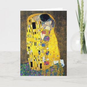Carte Le baiser, Gustav Klimt