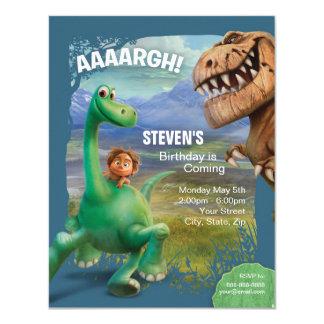 Carte Le bon anniversaire de dinosaure