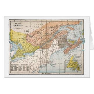 CARTE : LE CANADA ORIENTAL