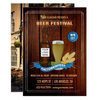 Carte Le club/Pub/compagnie d'Octoberfest ajoutent la