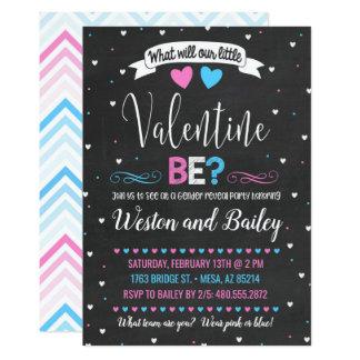 Carte Le genre de Saint-Valentin indiquent l'invitation