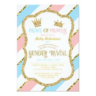 Carte Le genre indiquent l'invitation, prince,