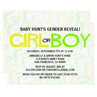Carte Le genre jaune et vert indiquent la partie de baby