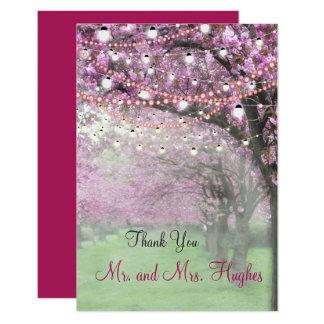 Carte Le mariage orienté de ressort de fleurs de