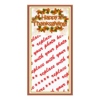 Carte Le meilleur texte de bon thanksgiving d'automnes