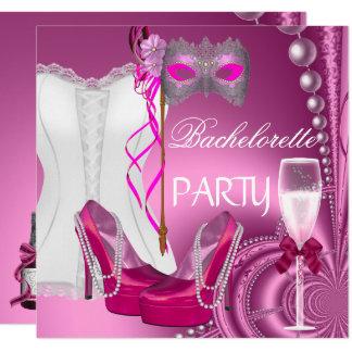 Carte Le rose de corset de partie de Bachelorette