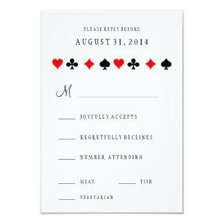 Carte Le tisonnier de casino de Las Vegas carde épouser