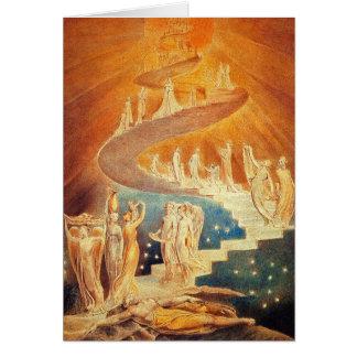 Carte :  L'échelle de Jacob - William Blake